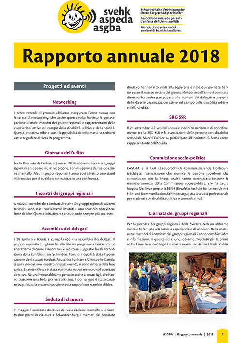 ASGBA RapportoAnnuale 2018 IT